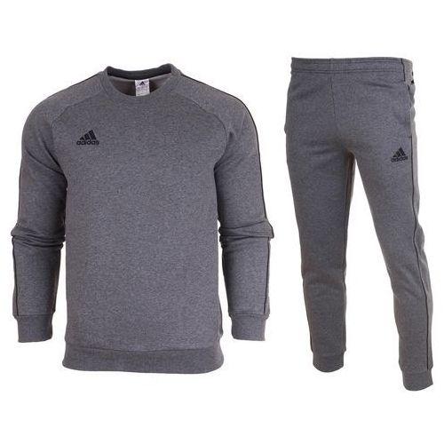f1ff15e78eff5 Adidas Dres kompletny meski spodnie bluza core 18 cv3960 / cv3752 259,00 zł  informacje o przedmiocie marka: Adidas Stan: Nowy Metki: Tak Skład  materiału: ...