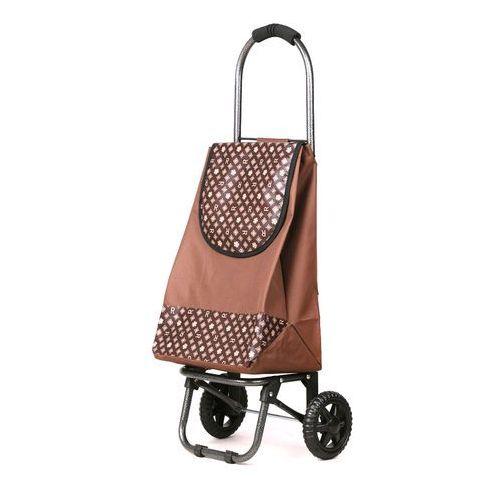 Wózek na zakupy S 04 brązowy (wózek na zakupy)