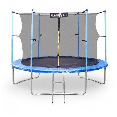 rocketgirl xxxl trampolina 400cm siatka ochronna z drabiną marki Klarfit