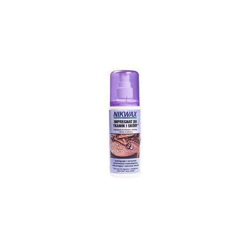 Zestaw NIKWAX 2x125ml/ żel czyszczący z gąbką + impregnat spray-on atomizer do obuwia tkanina i skóra, 4352