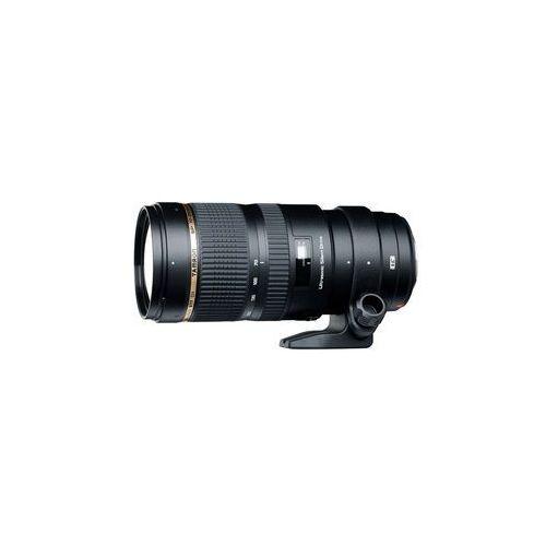 Obiektyw Tamron 70-200 mm f/2.8 Di VC USD (Nikon) + Velbon Monopod UP-400, A009N