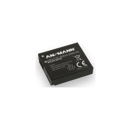 Akumulator ANSMANN do Ricoh A-Ric DB 60 (1150 mAh)