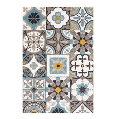 Dywan Colours Puppis 66 x 110 cm płytka niebieski (5908305646181)