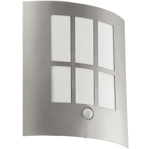 94213 - led lampa zewnętrzna z czujnikiem ruchu city led 1xled/3,7w/230v marki Eglo
