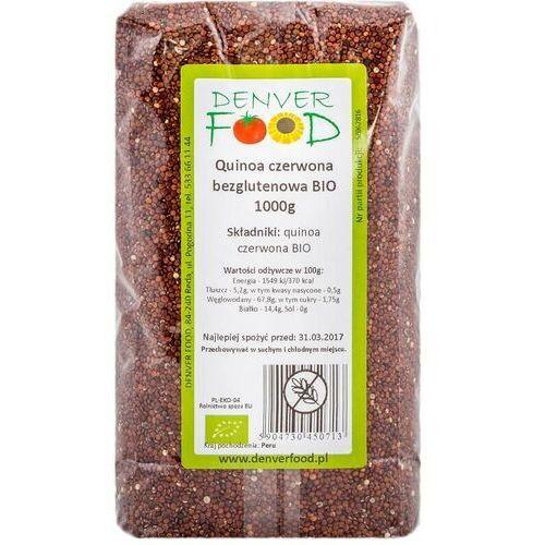 Denver food ul. pogodna 11, 84-240 reda, polska dystrybutor: denver fo Quinoa czerwona komosa ryżowa bezglutenowa bio 1000g denver food (5904730450713)