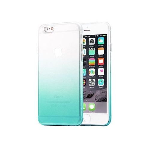 Etui Alogy ombre case Apple iPhone 6 / 6s Zielone + Szkło - Zielony, kolor zielony