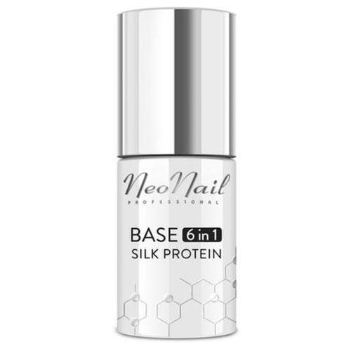 NeoNail BASE 6IN1 SILK PROTEIN Baza proteinowa 6 w 1 do lakieru hybrydowego (7,2 ml)