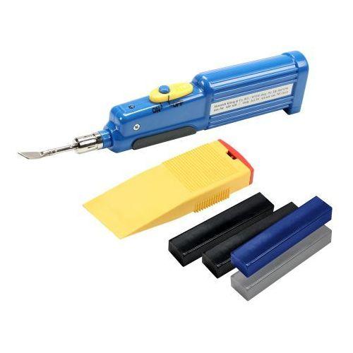 Adam hall hardware 0135 kit - zestaw do naprawy powierzchni skrzyni typu flightcase, czarny/szary/niebieski