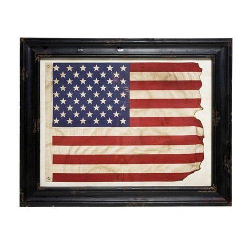 Kare Design obraz Frame Stars and Stripes Flag - 33806 (obraz)
