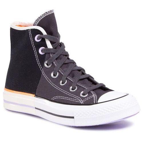 Converse Trampki - chuck 70 hi 167668c black/almost black/egret