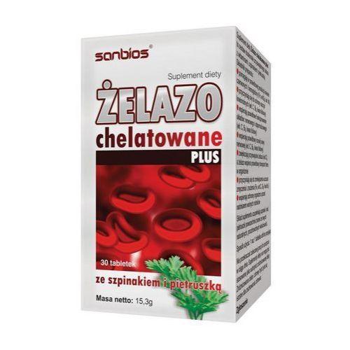 Tabletki Żelazo chelatowe Plus 30 tabl.