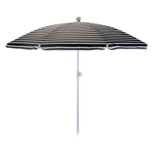 Parasol ogrodowy 180cm czarno-biały - czarno-biały od producenta Progarden