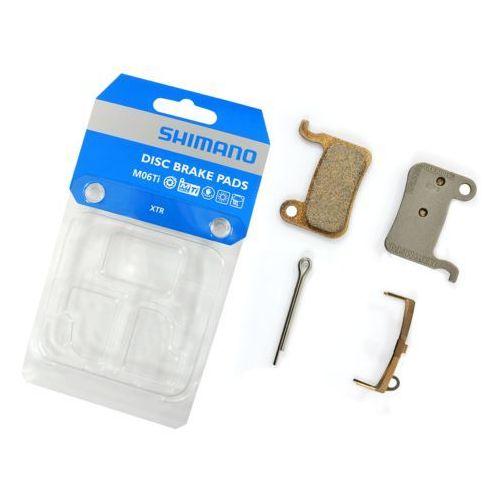 Shimano Y8e598010 klocki hamulcowe m06ti metaliczne tytanowa płytka