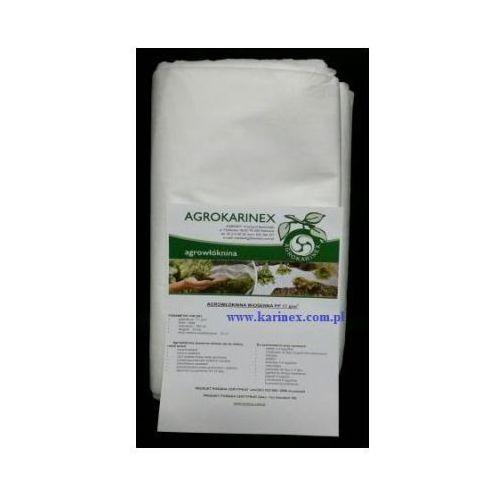Agrowłóknina wiosenna PP 17 g/m2 biała 3,2 x 10 mb. Paczka o wadze 0,6 kg. (folia i agrowłóknina) od Karinex