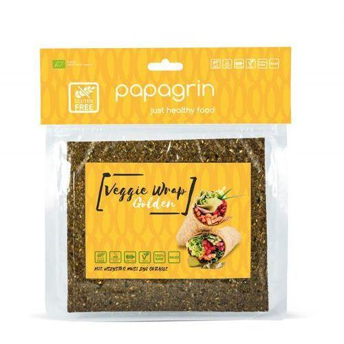 Tortilla wraps warzywna złota bezglutenowa bio 125 g - papagrin marki Papagrin (przekąski raw)