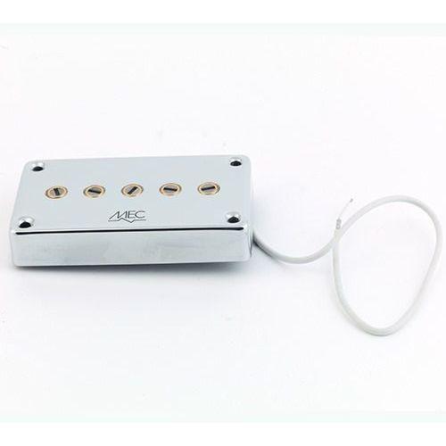 MEC Star Bass II 5 string PU, passive, Bridge, chromowany przetwornik gitarowy