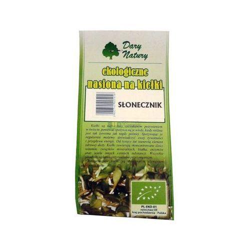 Nasiona na kiełki - słonecznik 50g marki Dary natury