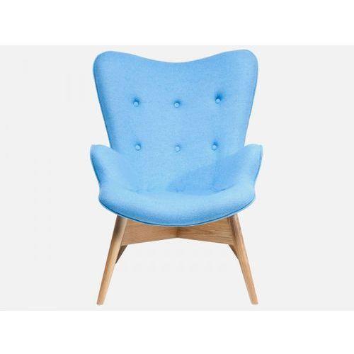 Fotel Angels Wings Eco niebieski wełna  79718, marki Kare Design do zakupu w sfmeble.pl