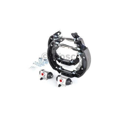 BOSCH KIT SUPERPRO, zestaw szczek hamulcowych + cylinderek hamulca koła; zamontowany; z tyłu, 0 204 114 181, BOSCH 0204114181