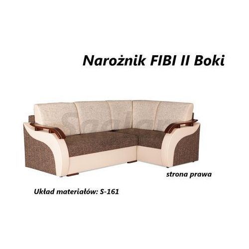 Narożnik FIBI 2 boki - produkt dostępny w SAGLAR meble