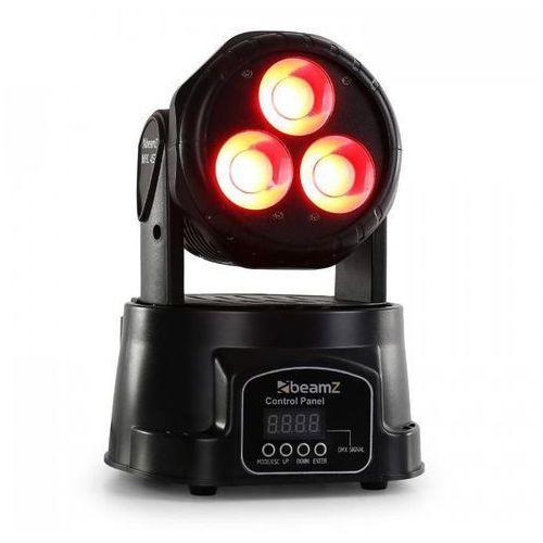 Ruchoma minigłowica Beamz MHL-45 DMX Wash 3 x 15W COB LED DM