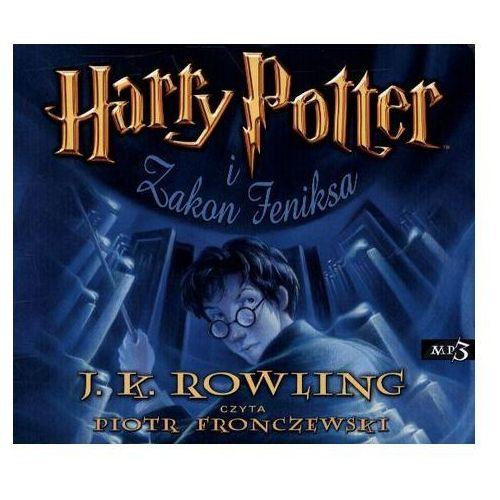 Harry Potter i Zakon Feniksa CD mp3 (audiobook), oprawa kartonowa