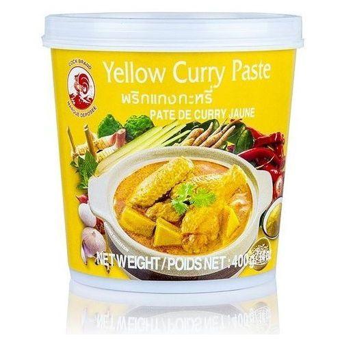 Cock brand Pasta curry żółta 400g