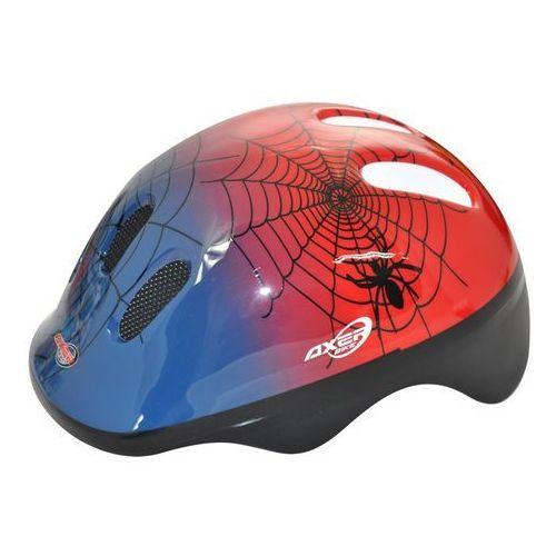 Kask rowerowy dla dzieci Happy Spiderman - oferta [75ddd14023df578e]