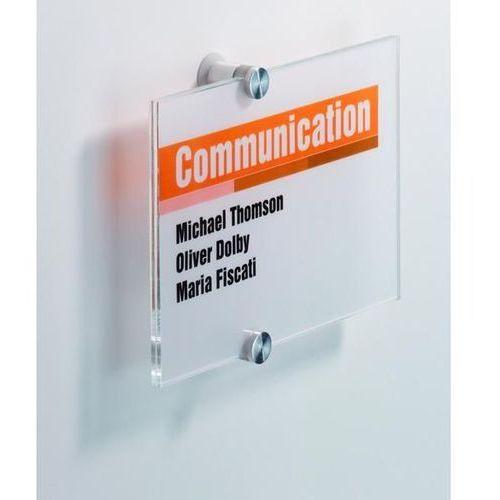 Durable Tabliczka informacyjna 210 x 210 mm crystal sign - x07941