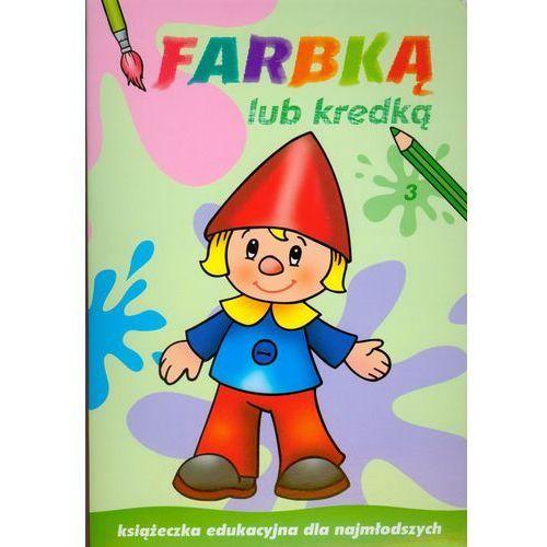 Farbką lub kredką 3. Książeczka edukacyjna dla najmłodszych, Skrzat