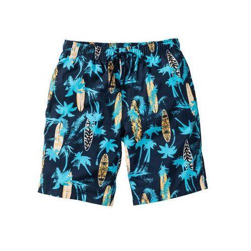 """Bermudy """"regular fit"""" ciemnoniebieski w kratę, Bonprix, S-XXXL"""