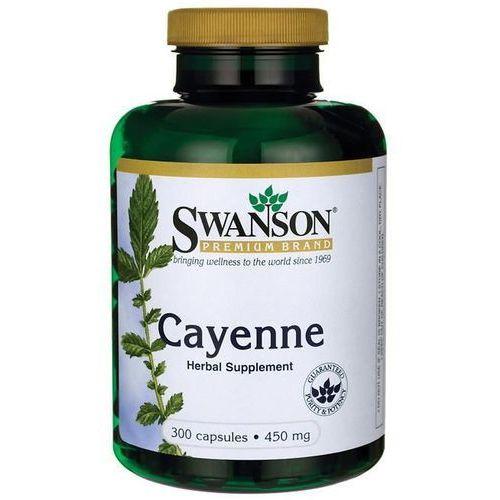 Pieprz kajeński Cayenne naturalna kapsaicyna 450mg 300 kapsułek SWANSON