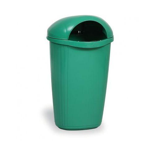 Zewnętrzny kosz na odpady na słupek dinova, jasnozielony marki B2b partner