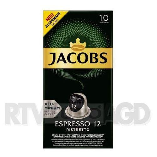 Jacobs Espresso 12 Ristretto 10 kapsułek (8711000371206)