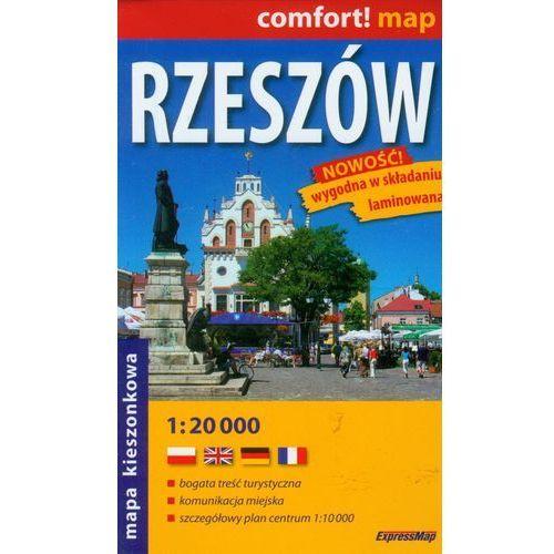 Comfort!map Rzeszów 1:20 000 midi plan miasta (2017)