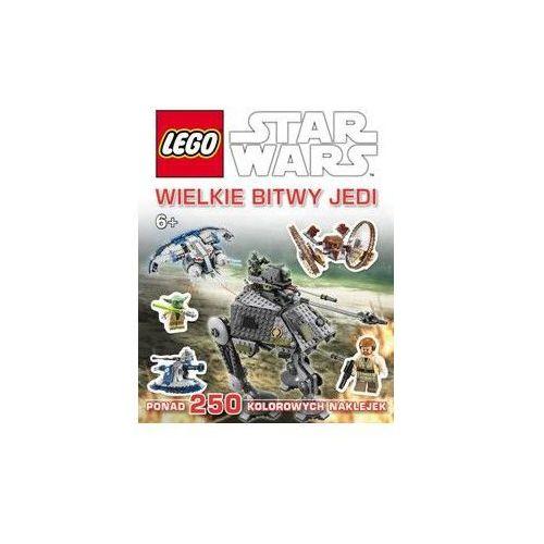 KSIĄŻKA LEGO® Star Wars™. WIELKIE BITWY JEDI