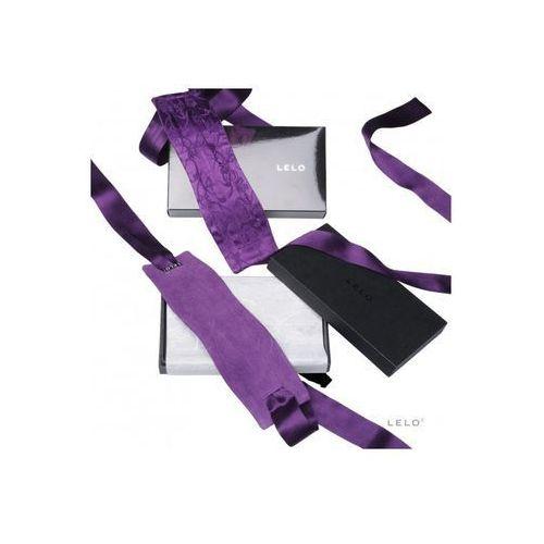 Lelo Etherea Silk Cuffs – Jedwabne ekskluzywne kajdanki fioletowe, 5501202 (5513737)