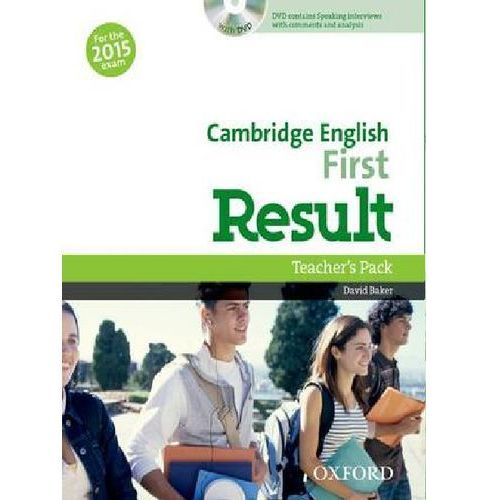 Cambridge English First Result Teacher´s Book with DVD D. Baker (9780194511872)