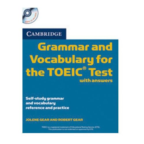 Cambridge Grammar and Vocabulary for the TOEIC Test, w. 2 Audio-CDs (9783125347038)