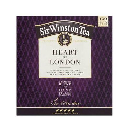 100x2g sir winston heart of london aromatyzowana herbata czarna marki Teekanne