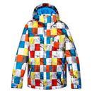 Produkt z kategorii- kurtki dla dzieci - Kurtka snowboardowa Quiksilver Mission Printed 024 nms1 onstreet mandarine 2014/15 kids