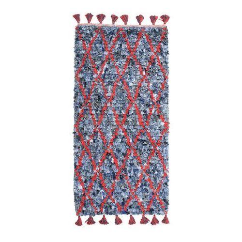 Bieżnik jeansowy w czerwone pasy - oferta [0566d34c632fb4a8]