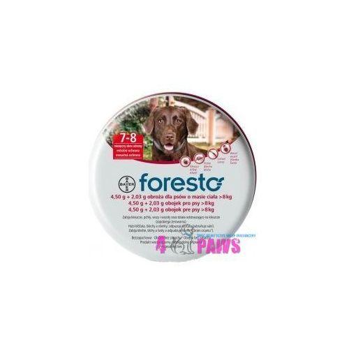 Bayer Foresto Obroża 4,5g + 2,03g dla psów >8kg ze sklepu 4-paws
