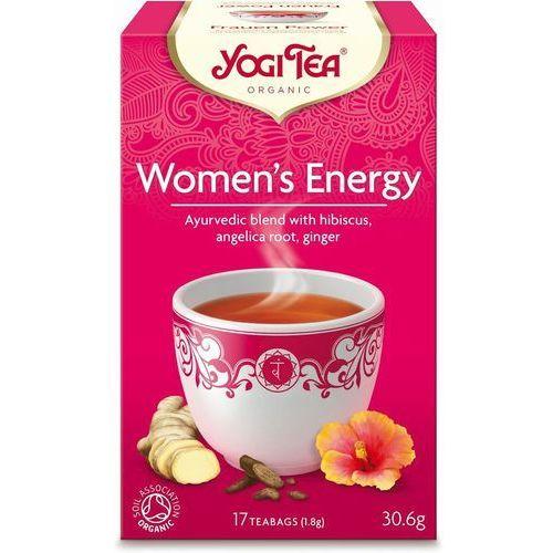 Herbata Dla Kobiet Energia BIO (Yogi Tea) 17 saszetek po 1,8g (4012824401679)
