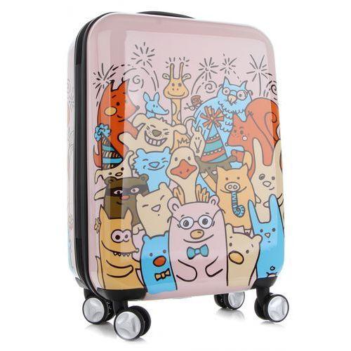 31ee074ae2f00 Unikatowa walizka kabinówka dla dzieci w modne wzory firmy multikolor -  różowa marki Snowball 259,00 zł Planujesz wakacyjny wyjazd w rodzinnym  gronie?