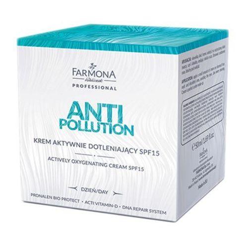 anti pollution krem aktywnie dotleniający spf15 (50 ml) marki Farmona