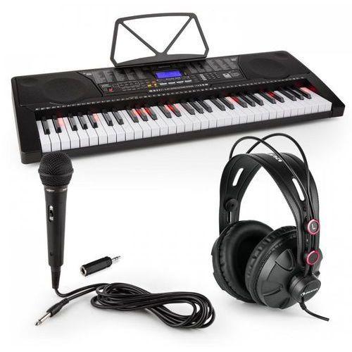Elektronik-star Schubert etude 225 usb keyboard dla początkujących ze słuchawkami i mikrofonem