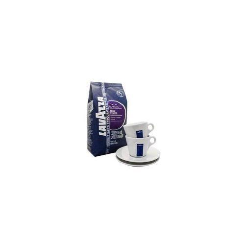 Lavazza gran riserva 5 x 1 kg + 2 filiż. cappuccino