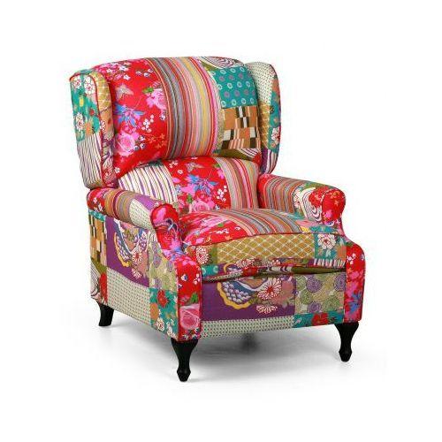 B2b partner Fotel patchwork rich