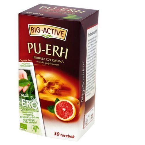 Herbata eksp. BIG ACTIVE PU-ERH grapefruit 30t.